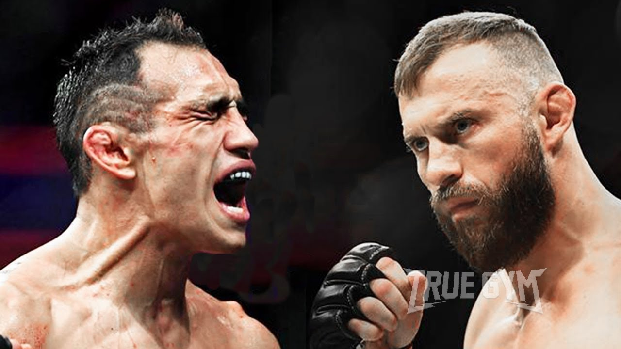 Дональд Серроне против Тони Фергюсона / Слова перед боем на UFC 238