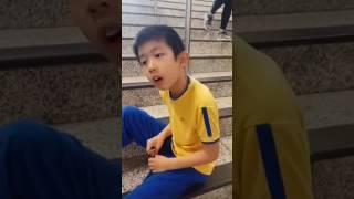 8/5/2017 9:32am, 我仔話: 香港紅十字雅麗珊群主PAS學校職員唔比佢入寧靜室。