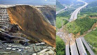 10 Massive Landslides Caught on Camera