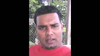 Guyanese citizen fed up of police