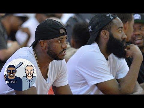 James Harden And Chris Paul Best Duo Ever?   Jalen & Jacoby   ESPN