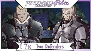 Fire Emblem Fates Conquest - Part 24 | Paralogue 17 - Two Defenders! [Non-DLC English Walkthrough]