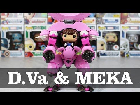 Overwatch D.Va with MEKA Funko Pop Unboxing