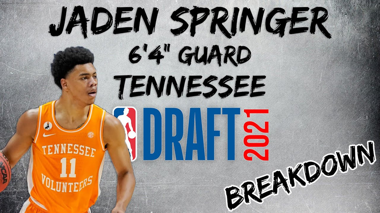 NBA Draft: Jaden Springer could become Sixers' sixth-man