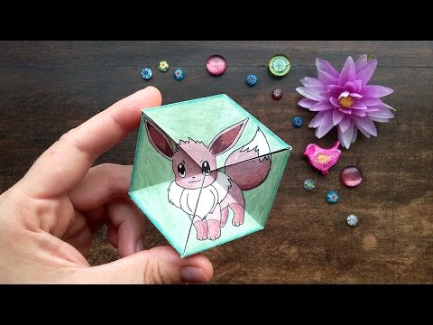 Hattifant - Eevee Evolution: Papertoy - Flextangle