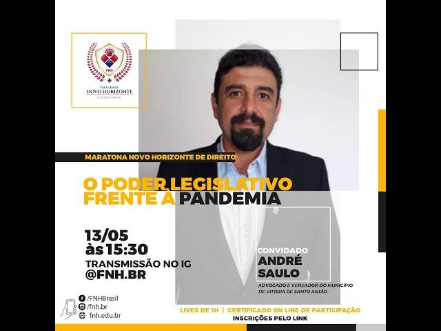 Live Maratona Novo Horizonte no Direito (3 Dia)