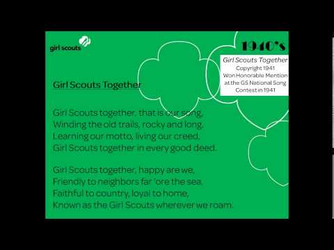2014 06 26 18 31 Girl Scout Songs Part 1  Traditional 1