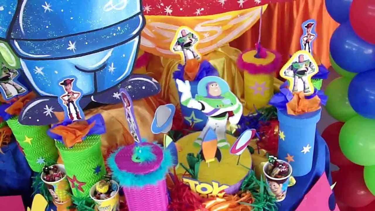 Decoracion de toy story en MUNDIAVENTURA
