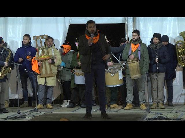 Gambatesa 318^ edizione maitunat 1-1-2018: squadra STOCK84 di Michele Santella