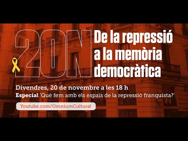 """Documental 20N: """"Què fem amb els espais de la repressió franquista?"""""""