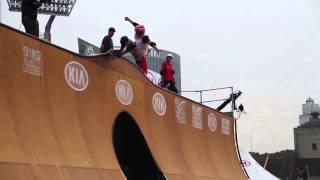 Rony Gomes vert best run Extreme Games Shanghai China