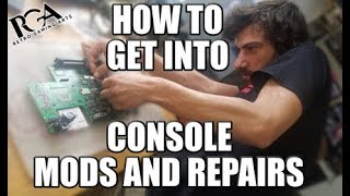 Getting Started With console REPAIRS/MODS - RETRO GAMING ARTS