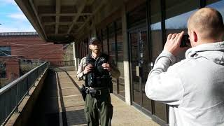 cops ask for ID and get laughed at