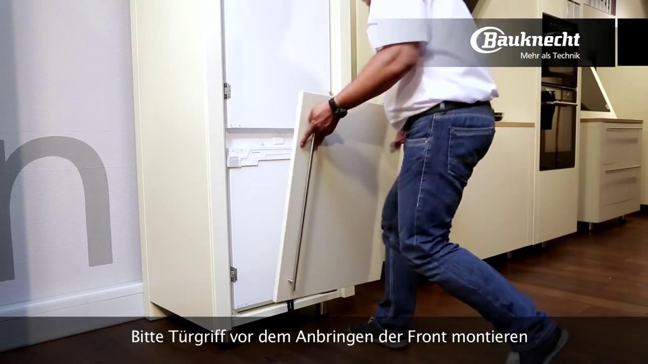 Aeg Kühlschrank Festtür Montage : Bauknecht kühlschrank mit festtürmontage setmoplus erhältlich bei