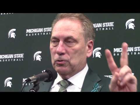 Tom Izzo After Beating Purdue.