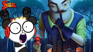 Scary Clown is a SECRET NEIGHBOR ! *NEW* Let's Play Hello Neighbor Secret Neighbor Beta