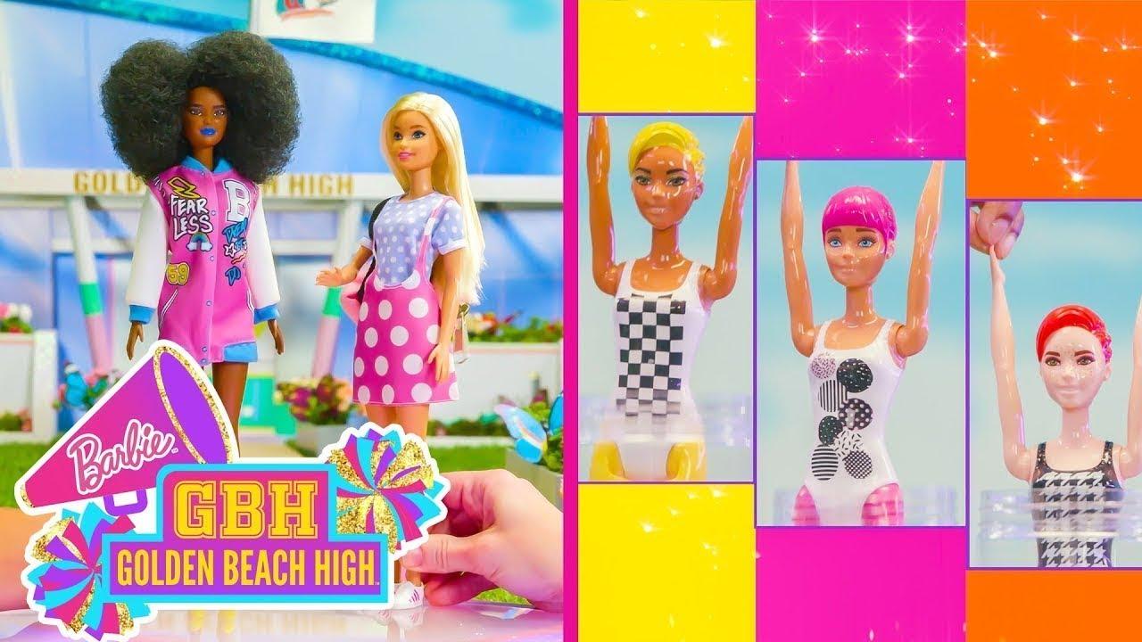MANUALIDADES DE MODA SORPRESA DE LAS COLOR REVEAL COLOR BLOCK | @Barbie en Español