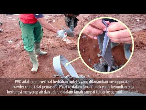 Pemadatan Tanah Summarecon Bandung dengan Metode PVD* dan PHD*