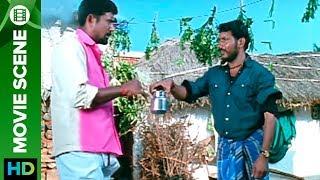 Pranam gets lunch invitation | Movie Scene | Mayandi Kudumbathar