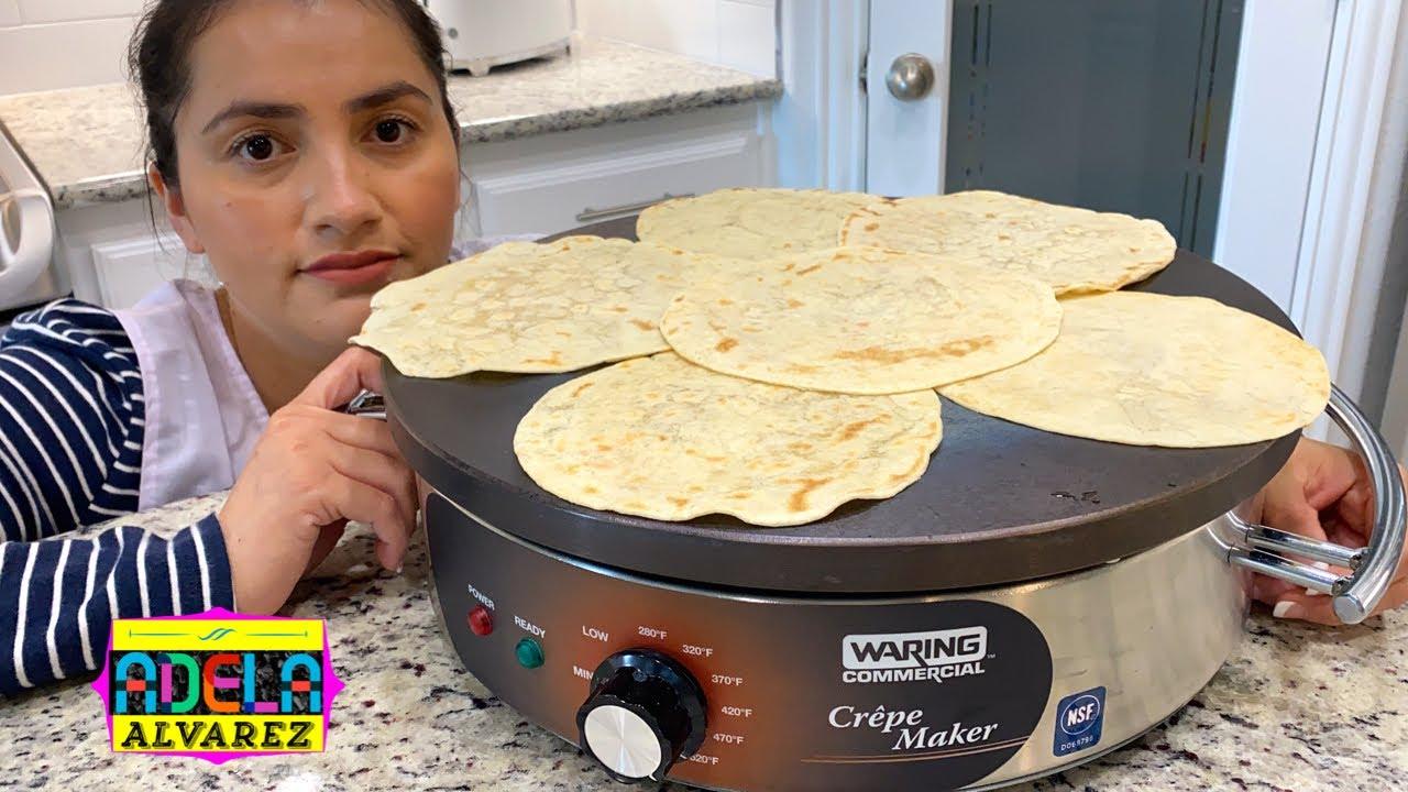 """""""Comal"""" para hacer tortillas, pupusas, y crepas - Waring Commercial"""