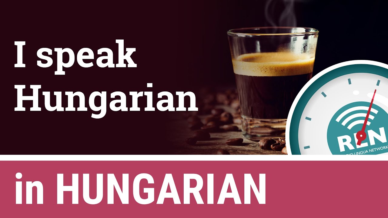 How to say that you speak Hungarian - One Minute Hungarian Lesson 3