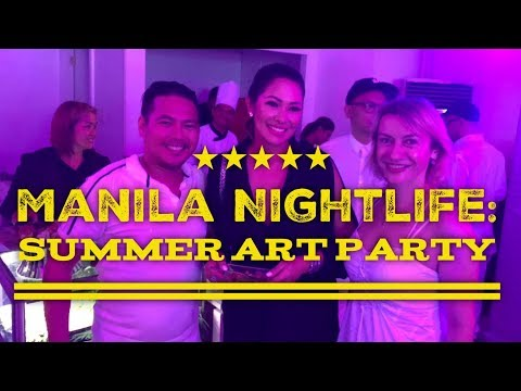 Manila Nightlife: Gavel & Block Summer Art Party  2018 with Ruffa Gutierrez Salcedo Auctions Makati