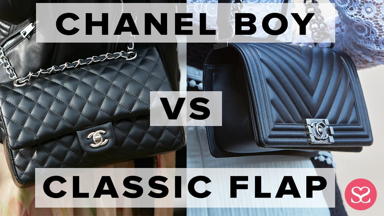 86814093324f00 WHICH TO BUY FOR INVESTMENT? | Chanel Boy vs Classic Flap | Sophie ...