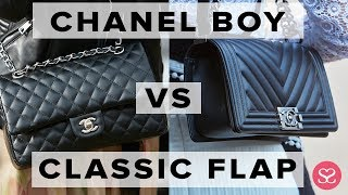 WHICH TO BUY FOR INVESTMENT? | Chanel Boy vs Classic Flap | Sophie Shohet