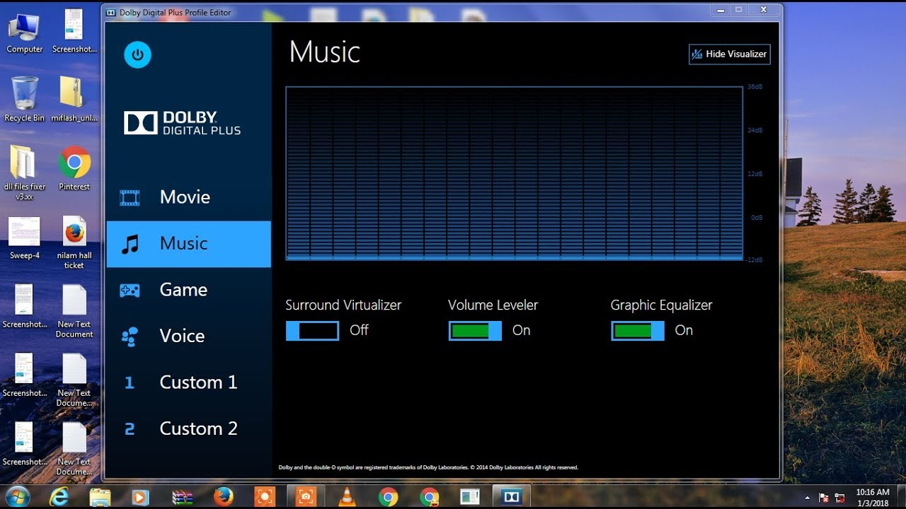 How To Install Dolby Digital Audio On Windows 10,8,8 1,7,On Any Pc/laptop