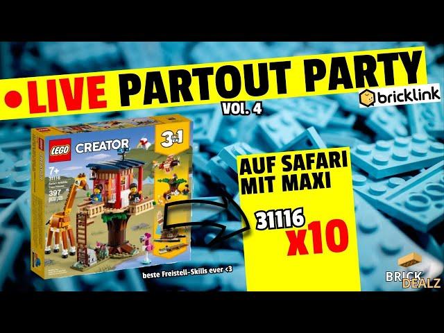 🔴 LIVE Partout Party| VOL. 4 | Auf Safari mit Maxi