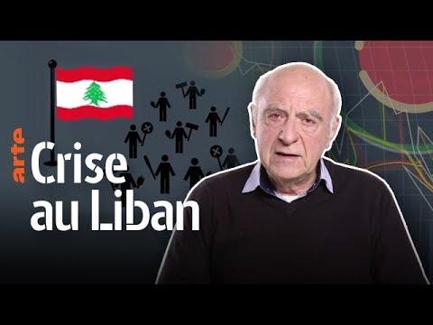 Xavier Baron - La crise au Liban - Les Experts du Dessous des cartes | ARTE