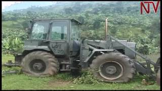Government loses millions daily as rented earth moving equipment lies idle in Bududa