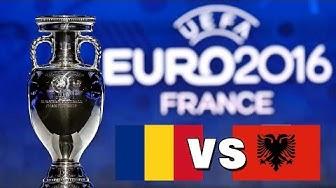 UEFA EM 2016: Rumänien vs. Albanien