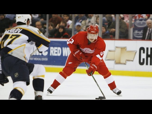 He Did What?! Detroit Red Wings Pavel Datsyuk '06