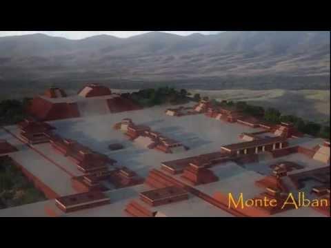 Monte Alban Reconstruccion Tlamachqui Youtube