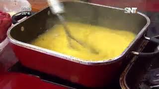 """La cocina de La Mañana: """"Bife de chorizo macerado con polenta cordón bleu"""""""