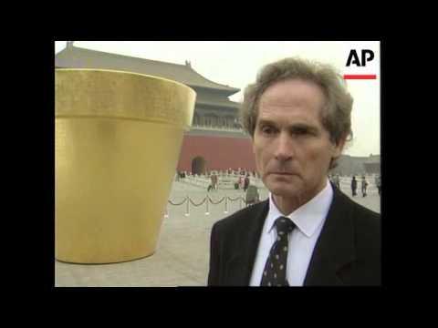CHINA: BEIJING: CARTIER FOUNDATION UNVEIL CURIOUS MODERN ART OBJECT