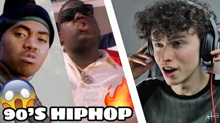 17 YEAR-OLD REACTS TO 90's HIP HOP (ft Nas, Notorious B.I.G. & Wu Tang Clan)