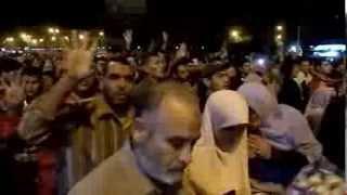 مسيرة منطقة السيوف شماعة الاربعاء 4-12-2013