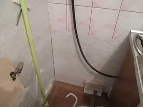 Потолок из ПВХ панелей. - YouTube