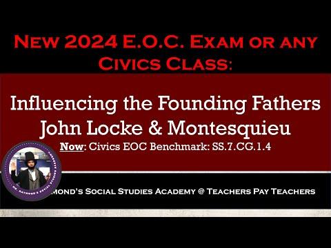 John Locke and Baron de Montesquieu: Influencing the Founding Fathers