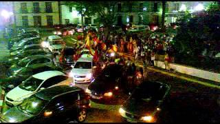 Manzanilla Huelva con la roja