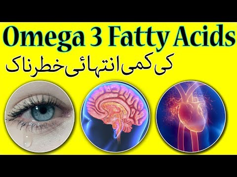 Deficiency Of Omega 3 Fatty Acid Is Big Problem For Health