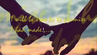 I will be here by Gary Valenciano with  lyrics