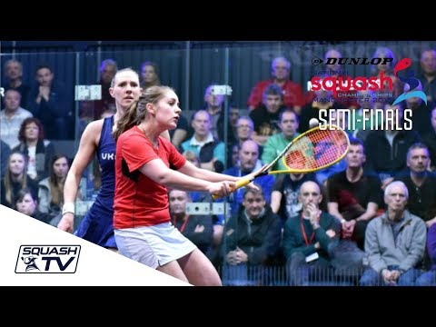 Squash: Dunlop British Nationals 2018 - Women's SF Roundup
