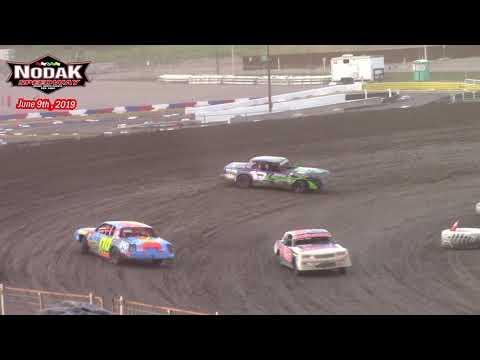 Nodak Speedway IMCA Hobby Stock A-Main (6/9/19)