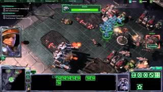 Starcraft 2 - Engine of Destruction - Walkthrough Gameplay PC
