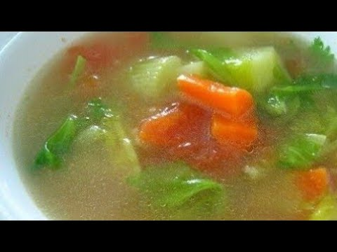 Clear Vegetables Soup Recipe | Quick And Easy By Chef Sohan