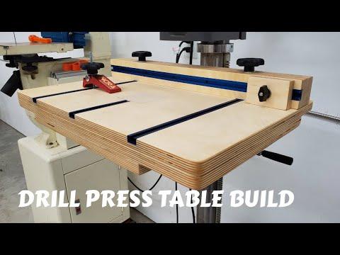 Drill Press Table Build