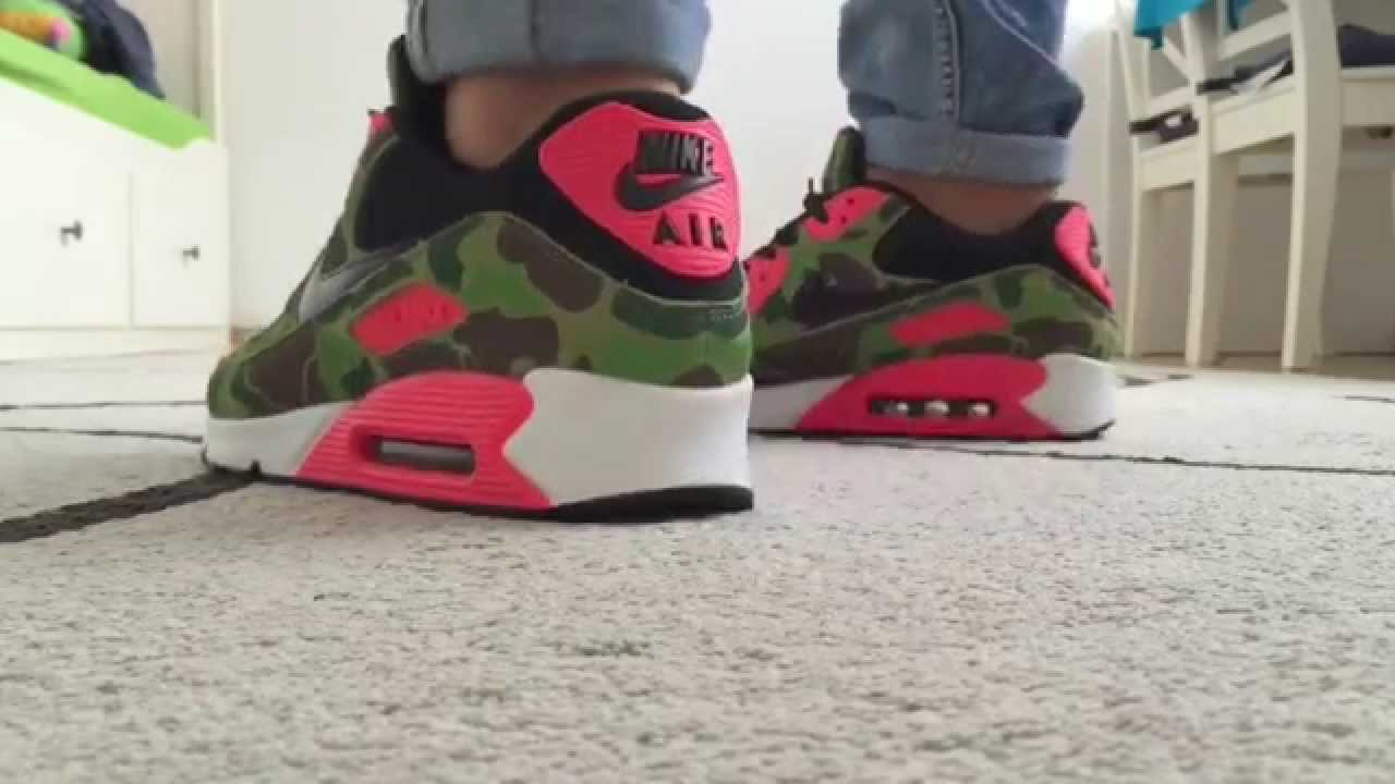 the latest 7a150 c7bcc ATMOS x AIR MAX 90  DUCK CAMO  - ON FOOT